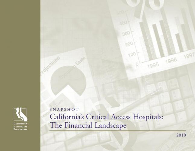 Image of Whitepaper: Financial Health of California CAHs